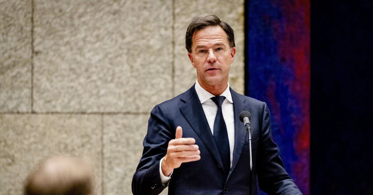 Prime Minister Mark Rutte presented his resignation