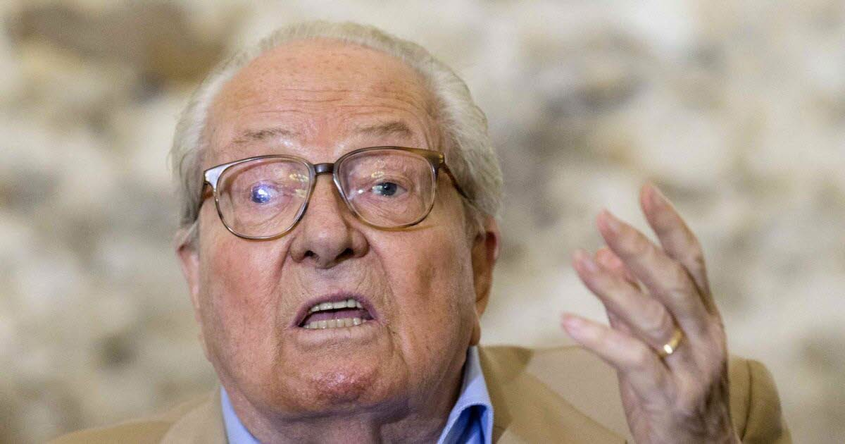 Politics.  Jean-Marie Le Pen wishes his daughter Marine victory in the 2022 presidential election