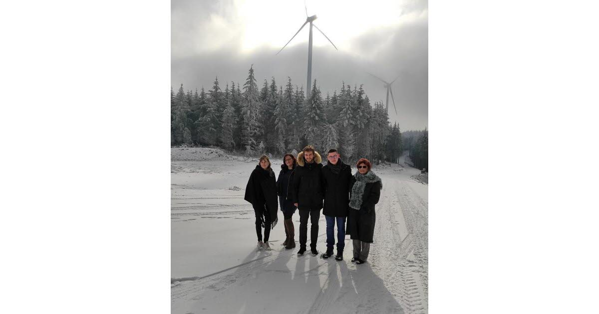 Valsonne.  Wind turbines, a share in the upcoming local elections?