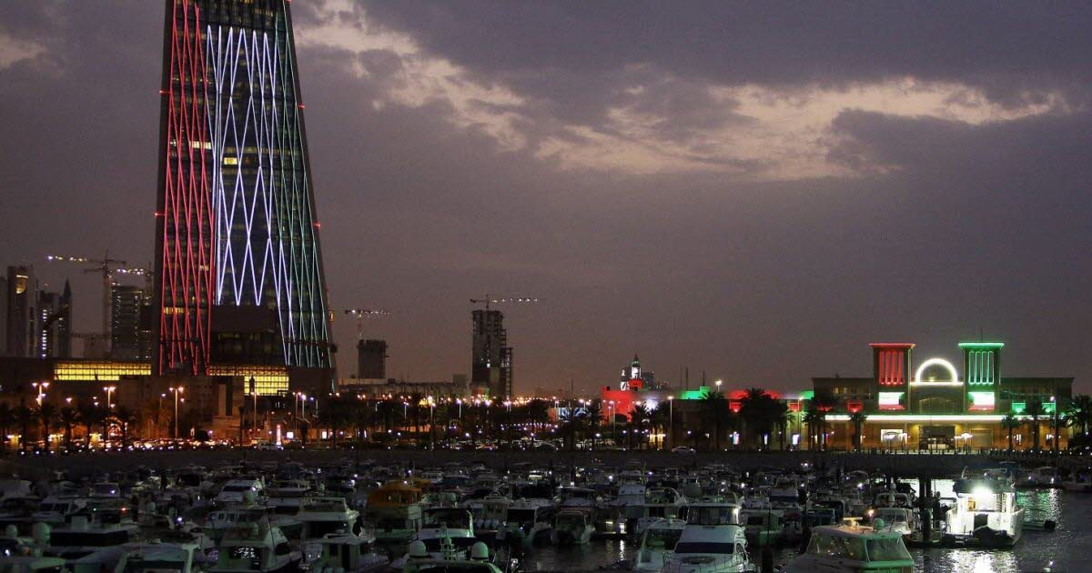Kuwait lights up for two important dates