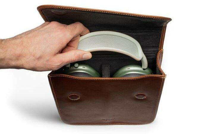 Pad & Quill announces new premium leather hard case for AirPods Max
