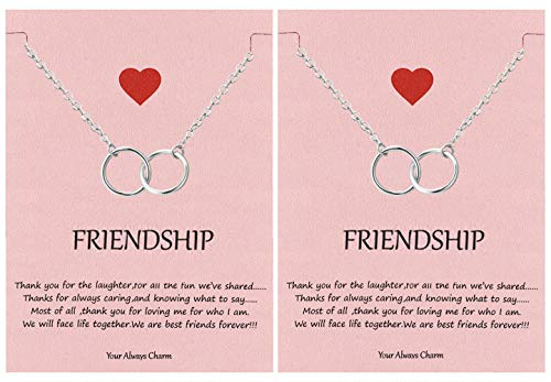 Top 10 Best Infinity Friends Circle Necklaces 2021