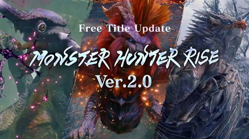 Everything in the Monster Hunter Rise version 2.0 update